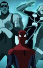 Ultimate Spiderman Nova x Demon Princess Diamond (finished) by WolfCristal
