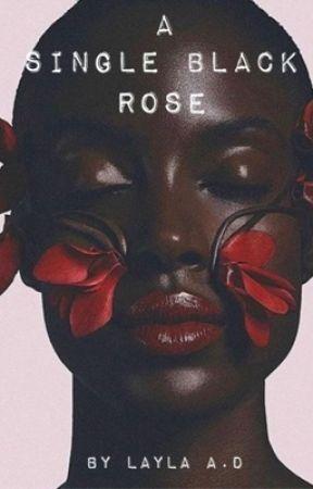 A Single Black Rose  by Layla-A-D