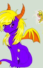 Female Spyro X Male Reader X Cynder by Winter-Phoenix