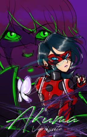 Akuma - Miraculous Ladybug AU by CrispMosaic