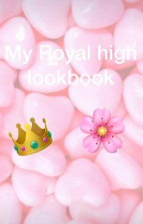 My Royal High Lookbook Megan Plays Roblox Wattpad