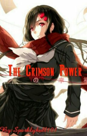 The Crimson Power- My Hero Academia x OC by Sparklybull101
