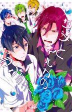 Free! Doujinshi RinHaru Shark & Dolphin Rendezvous by Karumyii-kun
