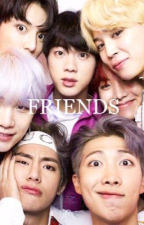 Friends / bts au  by pinksoekjin