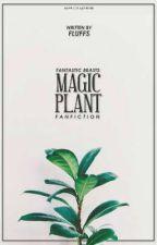 MAGIC PLANT  newt scamander. by nyslae