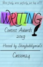 WRITING CONTEST AWARDS 2019 by Casson24