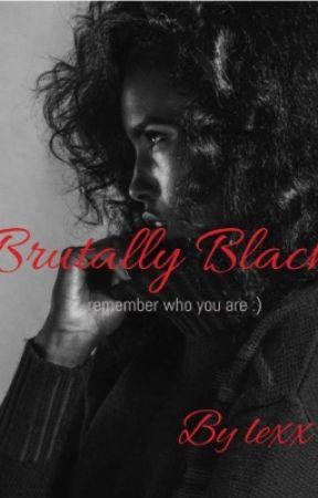 Brutally Black  by _princesslexx