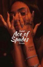 Ace of Spades by drvppyx