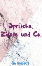 Sprüche, Zitate und Co.  by liroso03