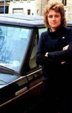 Roger Taylor x his car by howdycityslicker