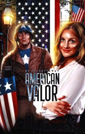 american valor • steve rogers by BNChattaway