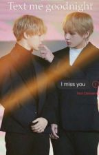 Text me goodnight   VMin by Nami2803