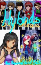 Hybrids (Skymedia, Shelby, Cory, and Aphmau) by aPrinceHasGotToSlay_