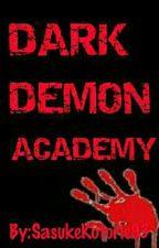 DARK DEMON ACADEMY by SasukeKotorie93