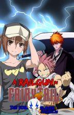 A Railgun In Fairy Tail, The Soul Slayer Chronicles, Book 3: Dark Eyes by MisakaLovesYou