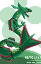 Dragonball Z Abridged x Male rayquaza reader (made by Goji1999) by powgod