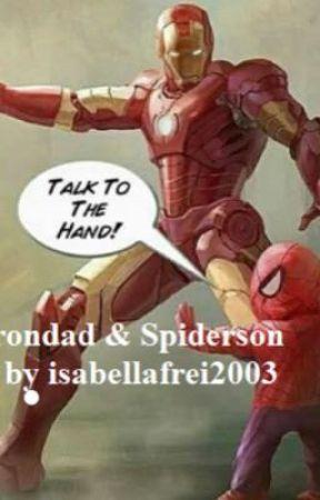Irondad & Spiderson by isabellafrei2003