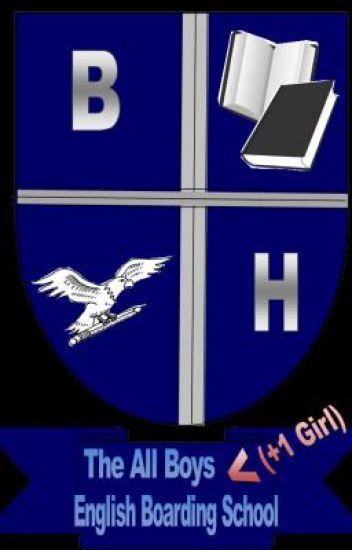 the all boys (+1 girl) English boarding school