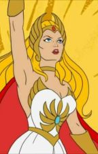 Characters of She-Ra Princess of Power watches themselves by TalaPevensie