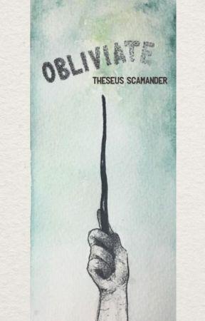 Obliviate- Theseus Scamander by supersuit