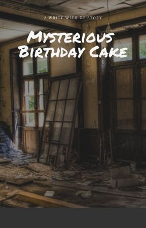 Mysterious Birthday Cake by lamyles