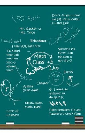 Gossip goes down in Math Class