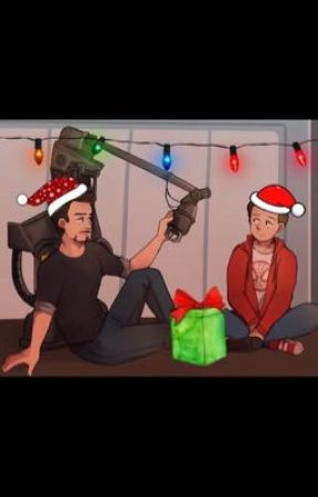 Christmas prompts- Irondad by DivDive