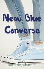 New Blue Converse by sorteringshatten