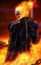 ghost rider reader x bnha by sanstheskeleton758