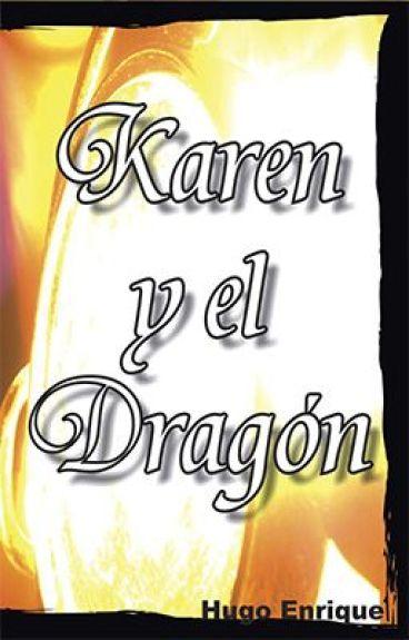 Karen y El Dragon by amshel