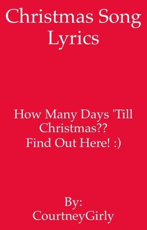 How Many Days Til Christmas.My Musical Christmas Countdown Christmas Wattpad