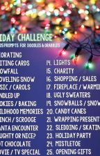 25 days of Christmas writing prompts by HelloIamHereNow