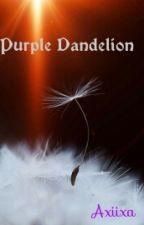 Purple Dandelion by axiixa