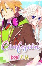 Confesión「 Kou ✘ IA 」 by LollyPoP-Sweet