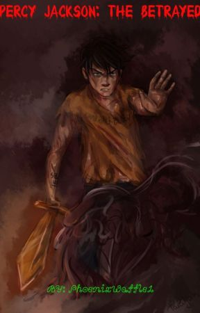Percy Jackson The Betrayed by PhoenixWaffle1