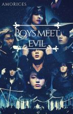 Saga Boys Meet Evil - BTS  by amorices
