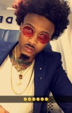 August Alsina Imagines by peachbreezy