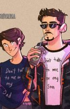 Spiderson and Irondad one-shots by Nikebutterfly