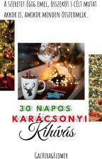 30 NAPOS KARÁCSONYI KIHÍVÁS by GalViragFlower