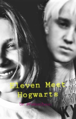 Eleven Meet Hogwarts by MailovesDrinn