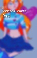 Venom wants food by HannaMeri