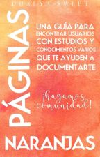 Páginas Naranjas by DhalyaSweet
