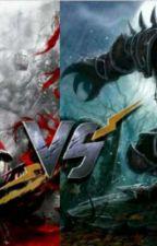 RPG Vampire VS Loup-garou  by Cristale18