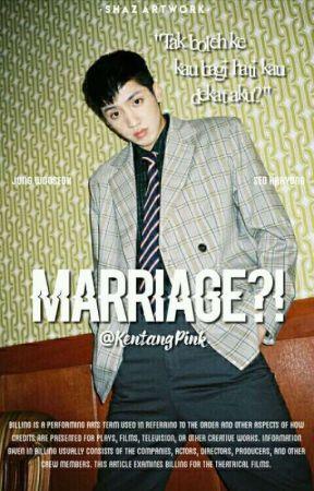 marriage?! || jws 💑 by KentangPink