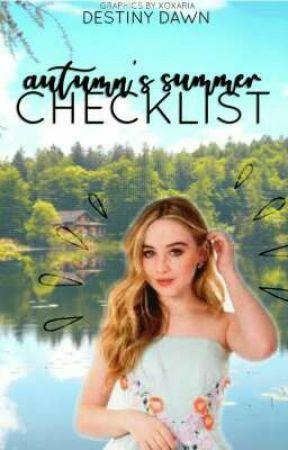 Autumn's Summer Checklist by destinydawn_
