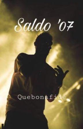 Saldo '07 /Quebonafide by nanablyskawica
