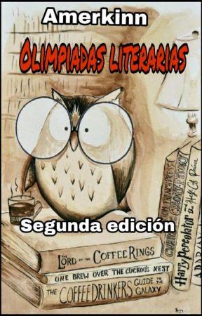 Olimpiadas Literarias- Segunda edición- *EVALUANDO* by RLk_Amer