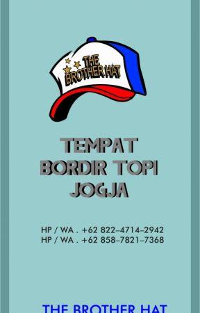 BORDIR TOPI JOGJA... HP   WA . +62 822-4714-2942 (TELKOMSEL) - JUAL ... 441d9e7b55