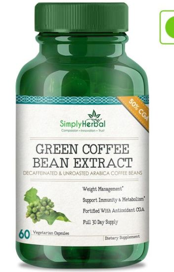 Simply Herbal Green Coffee Bean Benefits Side Effect Weight
