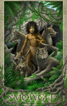 Mowgli the man cub V S Shere Khan family  - Bhoot the wolf pup